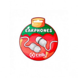 CELLY wired earphone xmas...